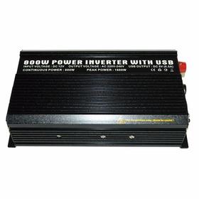 Inversor Tensão 12v P/ 220v 800 Watts - Onda Modificada
