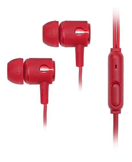 Fone De Ouvido Com Microfone Innexsound Pro P3 Vermelho Dazz