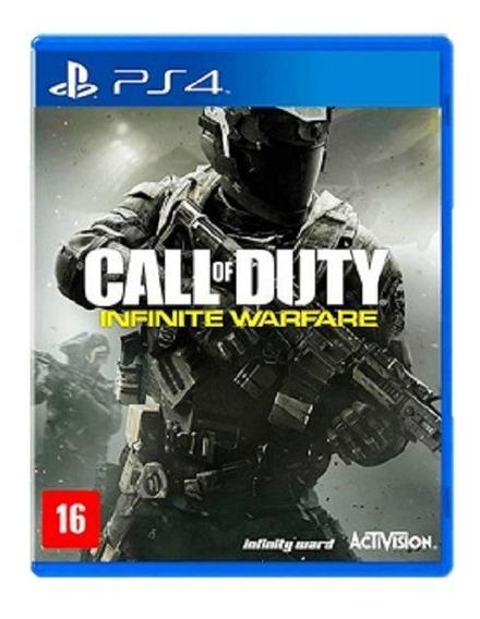 Call Of Duty Infinite Warfare - Ps4 - Jogo Seminovo