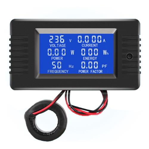 Imagen 1 de 6 de Ac Digital Display Power Monitor Medidor Voltímetro