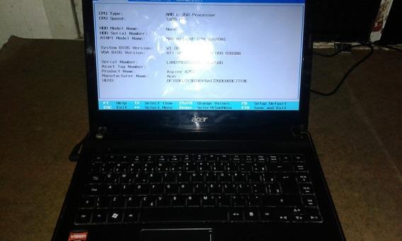 Notebook Acer 4253-bz806 Funcionando Ok - Leia A Descrição