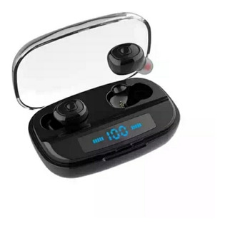 Audífonos Touch Power Bank 3000 Mah Para Cargar Celular