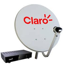 Kit Claro Tv Pré Pago 2 Anos - Antena E Receptor Visiontec