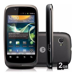 Motorola Spice Xt531 Android 2.3 Wi-fi 3g Gps Cinza | Novo