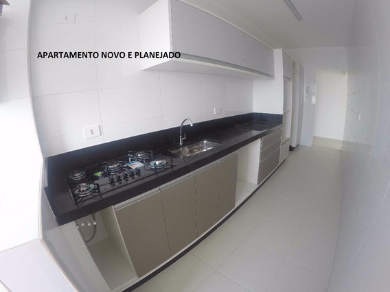 Apartamento Com 2 Dormitórios Para Alugar, 86 M² Por R$ 2.600,00/mês - Vila Guilhermina - Praia Grande/sp - Ap1697