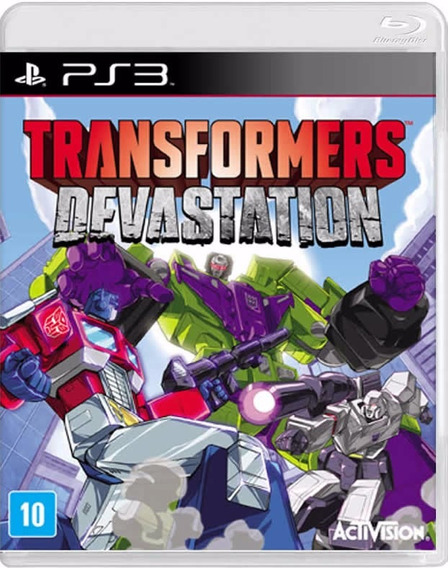 Transformers Devastation - [ps3] Lacrado