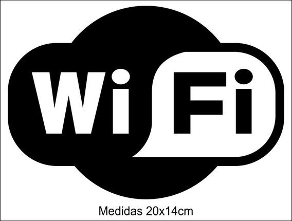 Adesivo Wi-fi Wireless Internet Sem Fio 3 Unidades
