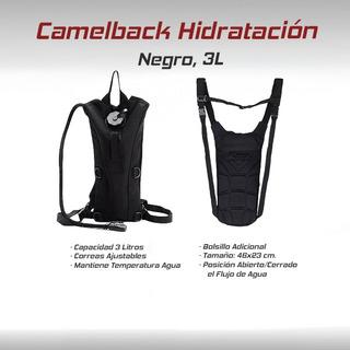 Camelback Hidratacion 3l Agua Vejiga Caceria Campismo Gotcha