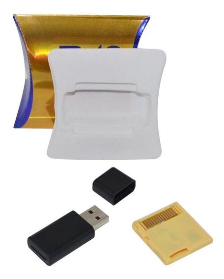 Adaptador De Cartão De Memória Digital Micro Seguro R4 Sdhc