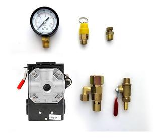 Kit Para Compresor Con Switch Furnas Con Manifold (4 Vías)