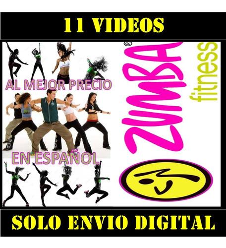 Zumba Fitness 11 Videos En Español Bailoterapia En Casa