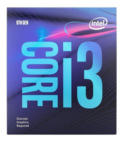 Processador Intel Core I3-9100f Coffee Lake Bx80684i39100f