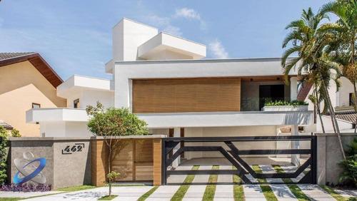 Sobrado, 510 M² - Arquitetura Contemporânea - Jardim Das Colinas - São José Dos Campos/sp - So0568