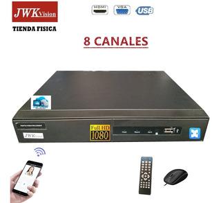 Grabadores Dvr 8 Canales Seguridad P2p Cctv 1080 Jwk Vision