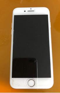 iPhone 7 S 32gb Blanco Y Gris Por Detras Funcionando Bat 76%