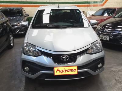 Toyota Etios Sedan 1.5 16v Platinum Aut. 4p 2018