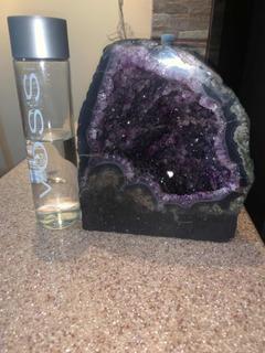 Piedra Geoda Amatista