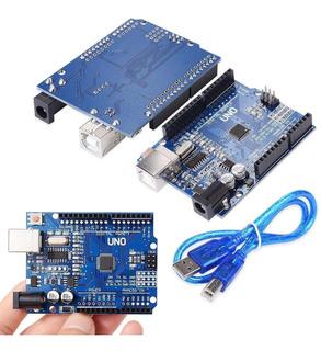 Arduino Uno R3 Atmega 328p Ch340g Incluye Cable Usb