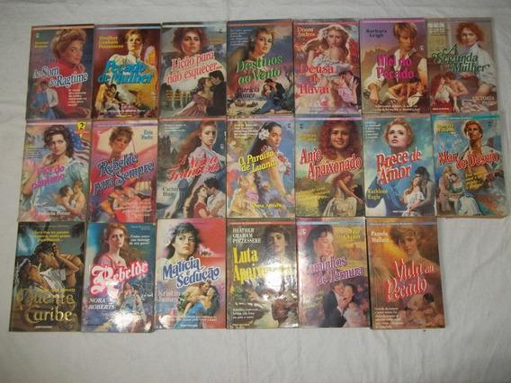 Lote 20 Romances De Banca Livros Sabrina Julia Outros Revist