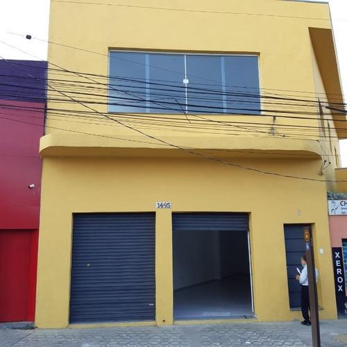 Imagem 1 de 12 de Salão Para Alugar, 140 M² Por R$ 5.000,00/mês - Vila Formosa - São Paulo/sp - Sl0197
