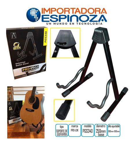 Soporte Para Para Guitarra O Bajo Pro Lok Pgs340 Frame