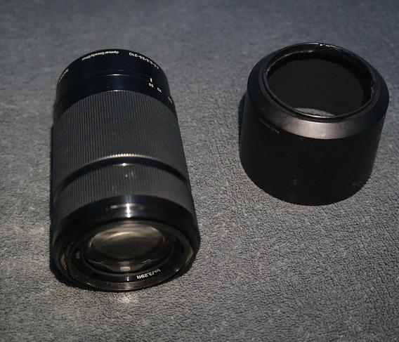 Lente Sony E 55-210mm F/4.5-6.3 Oss - Sel55210/bq Ae