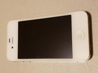 iPhone 4 Blanco 16 Gb Liberado Excelente 1333