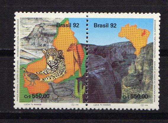 Numismza : Brasil 1992 Serie Tematica Mnt ( C 324) Oferta