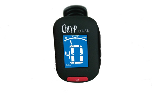 Afinador Creep Tipo Pinza Chromatic Ct-36 En White,black,red