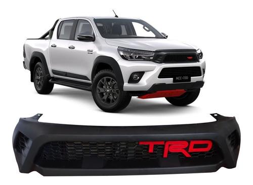 Máscara Trd Para Toyota Hilux 2016-2019 Con Logo