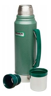 Termo Stanley Clasico Con Tapon Cebador 1lt. 24hs Frio Color