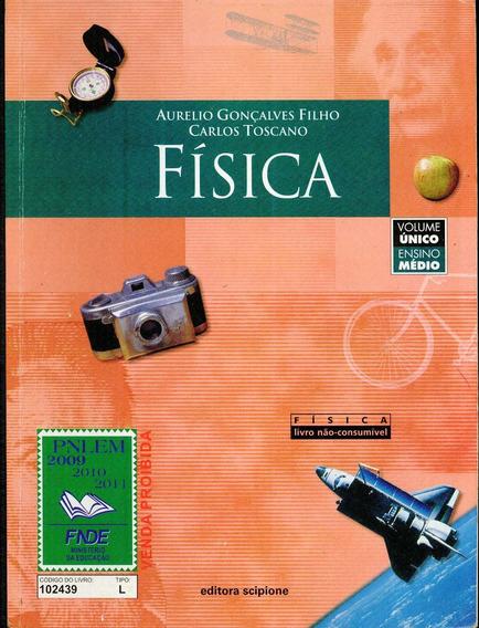 Livro Física Ensino Médio - Aurelio Gonçalves - * 2695