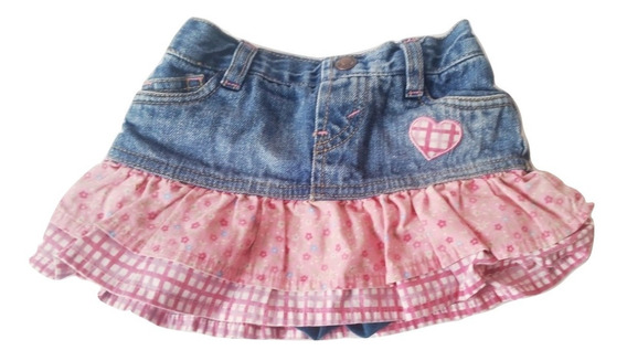 Falda Short Levis Usad Bebe Minifalda Levi