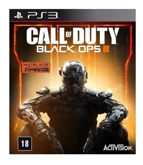 Game Play3 - Call Of Duty Black Ops 3 - Semi-novo Jogo Ps3