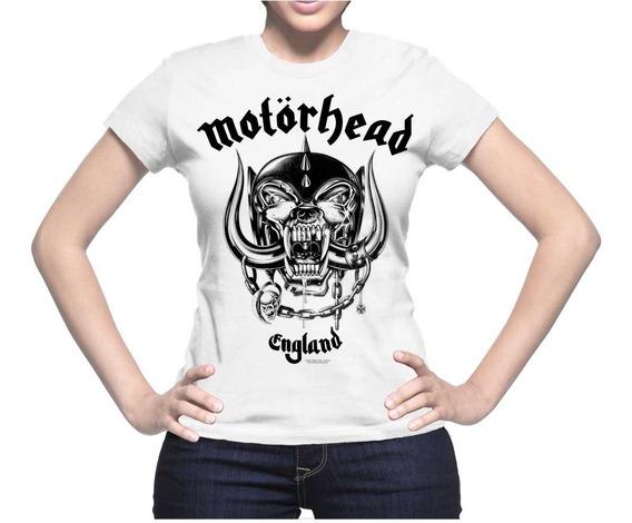 Acdc Blusa Motorhead, Rock Metal, Unitalla