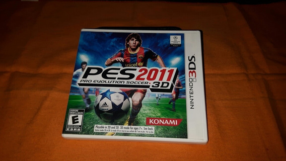 Pes 2011 3d Nintendo 3ds Completo