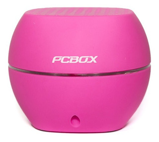 Parlantes Pcbox Ash Pcb-s1100 Rosa - Bateria 1000mah - Bluet