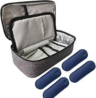 Fanyu Insulin Cooler Travel Bag With 4 Ice Pack For Diabetic