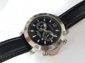 Relógio Masculino Nautica A20096g Cronógrafo Calendário