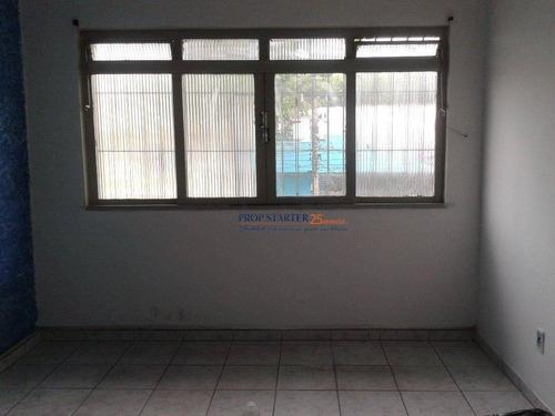 Sala Comercial Para Locação, Vila Mascote, São Paulo. - Sa0002