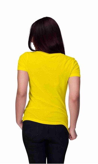 Kit 10 Camisetas Lisas Feminina 100% Algodão Frete Gratis