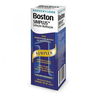 Solução Multiação Para Lentes Rígidas - Boston Simplus 120ml