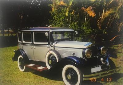 Dodge Brothers 1929 Placa Preta