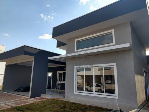 Ótima Casa Térrea À Venda, Condomínio Athenas, Paulínia - Ca1648. - Ca1648