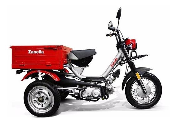 Tricargo 110 Zanella, Moto Carro Carga Utilitario Trabajo
