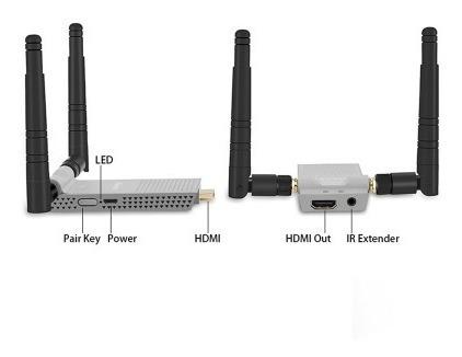 Transmissor Hdmi Sem Fio Measy Air Prime 200m 5.8ghz