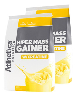 Combo 2 X Hiper Mass Gainer 6kg - Atlhetica