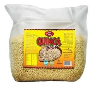 Quinoa Inflada Pop Yin Yang - Bolsa Cerrada De 3 Kg - Dw