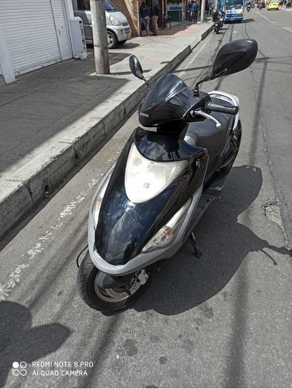 Honda Elite 125 Color Negra