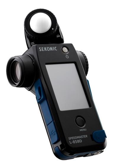 Fotometro Sekonic L-858d Flashimetro Luxometro P/ Flash Cine